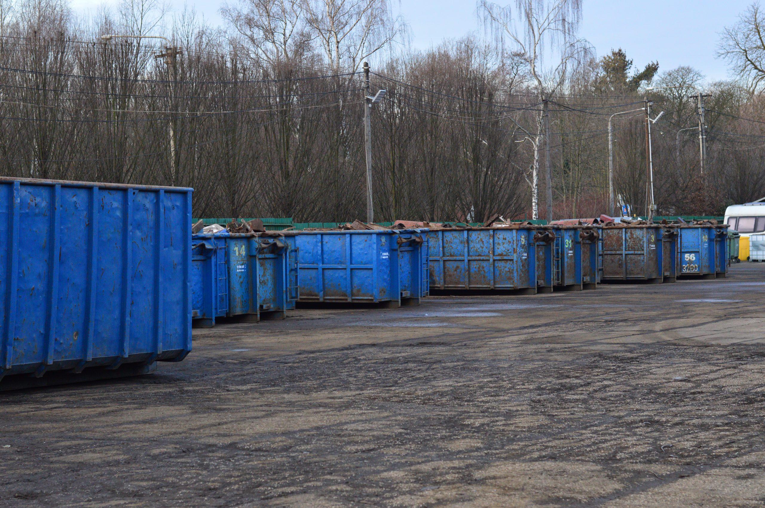 Kontejnery pro kovový odpad